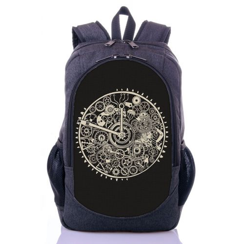 Городской рюкзак XYZ New Design РГ18413 Часы серый