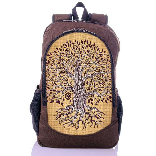 Городской рюкзак XYZ New Design РГ18602 Дерево коричневый