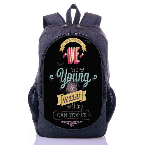 Городской рюкзак XYZ New Design РГ18404 WILD серый