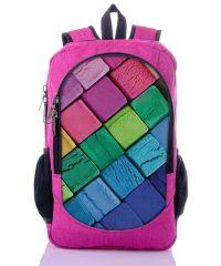 Городской рюкзак XYZ New Design РГ18501 Пластилин малиновый