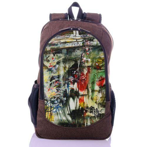 Городской рюкзак XYZ New Design РГ18613 Краски Урбан коричневый