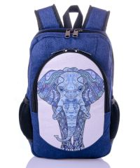 Городской рюкзак XYZ New Design РГ18118 Голубой Слон синий