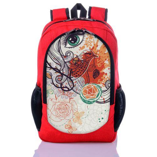 Городской рюкзак XYZ New Design РГ18304 Фантазия красный