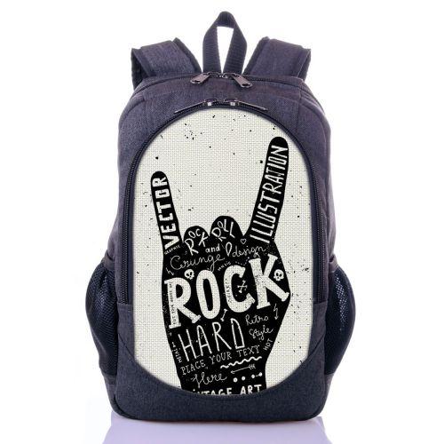 Городской рюкзак XYZ New Design РГ18405 ROCK серый