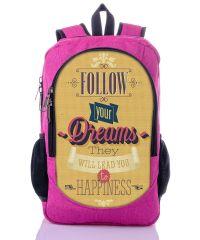 Городской рюкзак XYZ New Design РГ18502 DREAMS малиновый