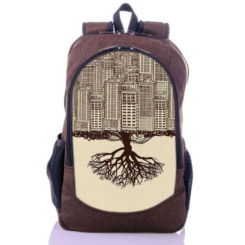 Городской рюкзак XYZ New Design РГ18604 Город коричневый