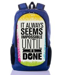 Городской рюкзак XYZ New Design РГ18109 Всегда синий