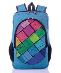 Городской рюкзак XYZ New Design РГ18201 Пластилин бирюза