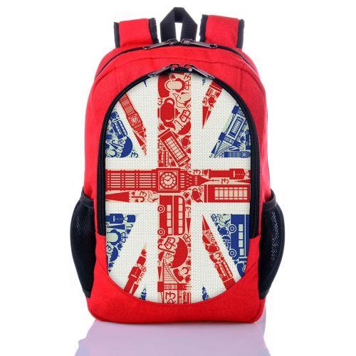 Городской рюкзак XYZ New Design РГ18305 Великобритания красный