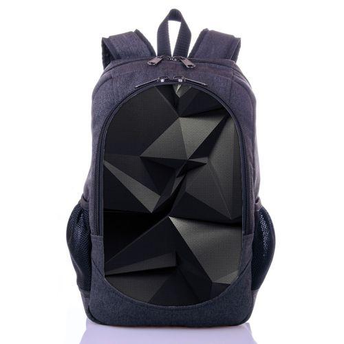 Городской рюкзак XYZ New Design РГ18406 Калейдоскоп серый