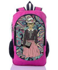 Городской рюкзак XYZ New Design РГ18503 Мисс малиновый
