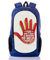 Городской рюкзак XYZ New Design РГ18110 HELP синий