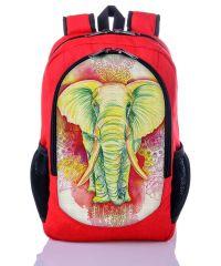 Городской рюкзак XYZ New Design РГ18306 Слон красный