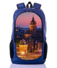 Городской рюкзак XYZ New Design РГ18101 Вечер синий