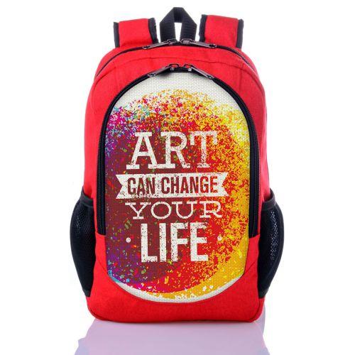 Городской рюкзак XYZ New Design РГ18307 ART красный