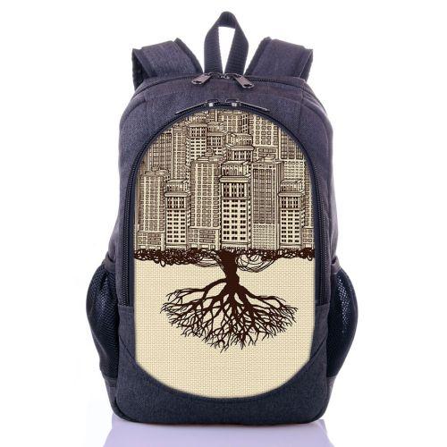 Городской рюкзак XYZ New Design РГ18408 Город серый