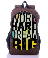Городской рюкзак XYZ New Design РГ18607 BIG коричневый