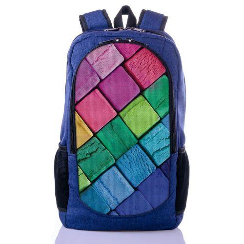 Городской рюкзак XYZ New Design РГ18102 Пластилин синий