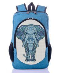 Городской рюкзак XYZ New Design РГ18204 Голубой Слон бирюза