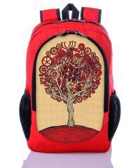 Городской рюкзак XYZ New Design РГ18308 Дерево Жизни красный