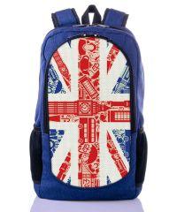 Городской рюкзак XYZ New Design РГ18103 Великобритания синий