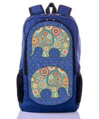 Городской рюкзак XYZ New Design РГ18113 Слоники синий