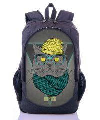 Городской рюкзак XYZ New Design РГ18410 Кот серый