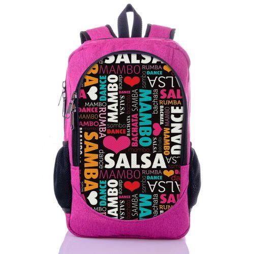 Городской рюкзак XYZ New Design РГ18507 Salsa малиновый