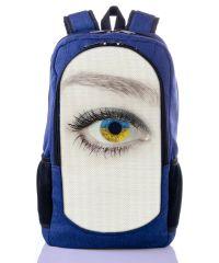 Городской рюкзак XYZ New Design РГ18114 Око синий