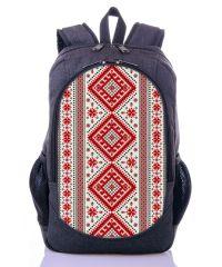 Городской рюкзак XYZ New Design РГ18401 Орнамент серый