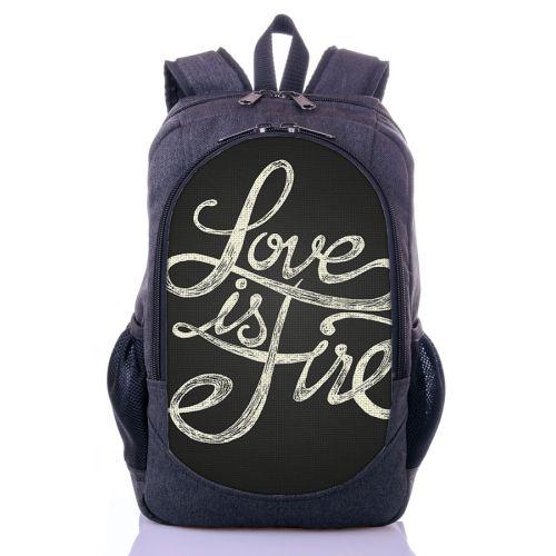 Городской рюкзак XYZ New Design РГ18411 LOVE серый