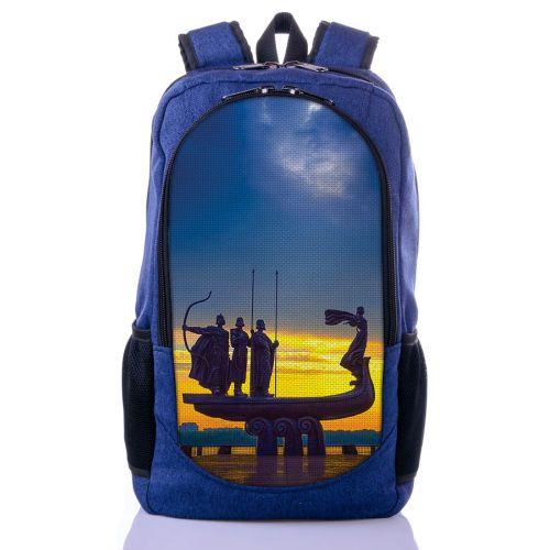 Городской рюкзак XYZ New Design РГ18115 Стелла синий
