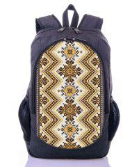 Городской рюкзак XYZ New Design РГ18402 Орнамент серый