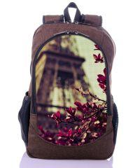 Городской рюкзак XYZ New Design РГ18611 Ветка Барбариса коричневый