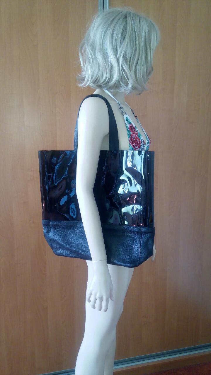 Черная силиконовая сумка PoolParty Carrie