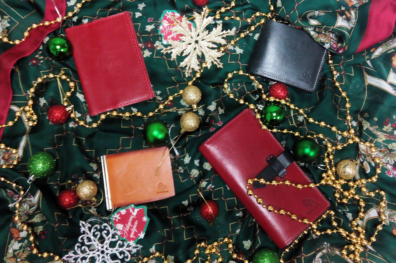 подарить кожаные аксессуары на новый год