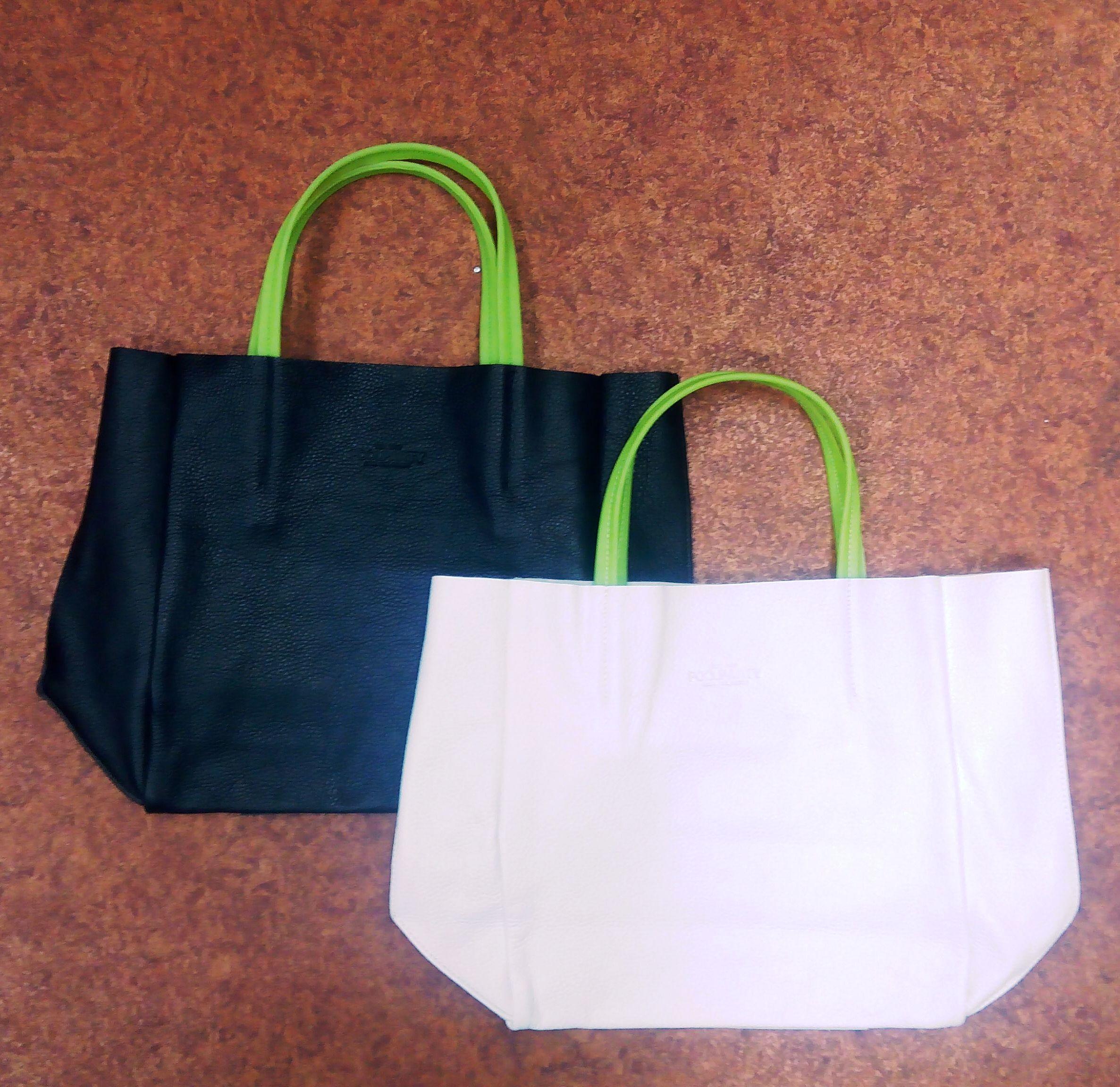 кожаные сумки poolparty soho с силиконовыми ручками